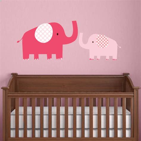 mom and baby elephant wall decal wall decal world
