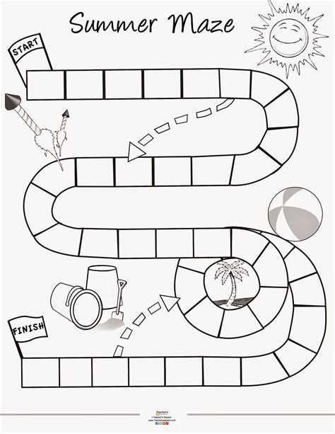 printable games for summer teacher s square blog summer game printable
