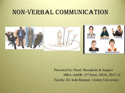 Mba For Non Speaking by Non Verbal Communication