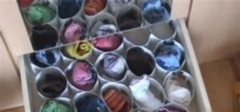 diy sock storage how to make a sock organizer out of paper cards