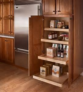 roll out pantry kraftmaid home improvements