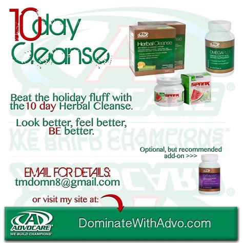 Advocare Detox by Advocare 10 Day Cleanse Lookup Beforebuying