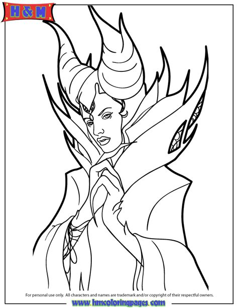 Disneys Maleficent Dream Coloring Page H M Coloring Pages Maleficent Coloring Pages