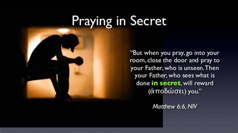 go to your room and pray hypocrisy vs intimacy