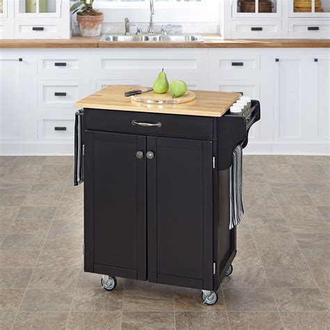 new wood kitchen trolley cart island butcher block cutting