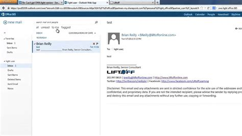 Office 365 Webmail Login by How To View Office 365 Webmail In Owa Light