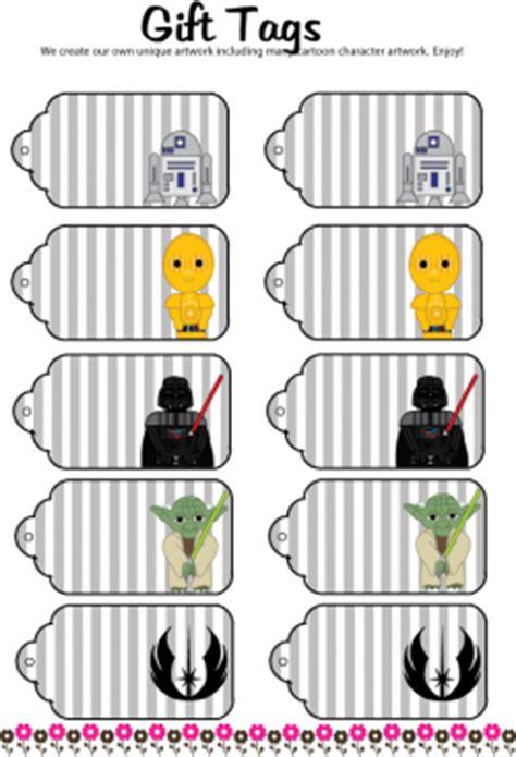 printable star gift tags star wars gift tags star wars gift tags free printable