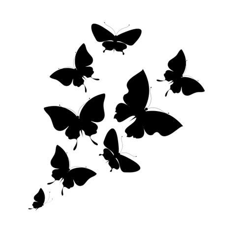 imagenes de mariposas en negro vinilo decorativo revoltijo de mariposas ii