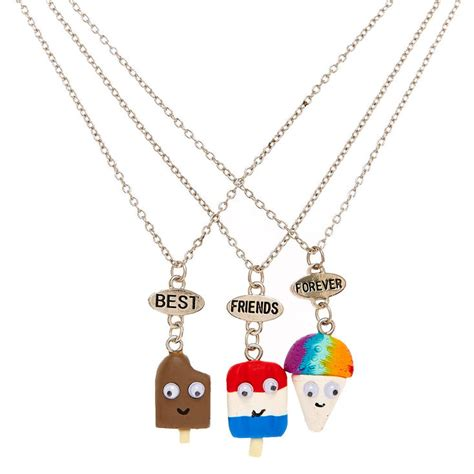 cold best friends best friends cold summer treats necklaces s us