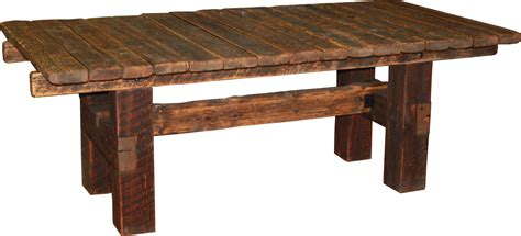 barnwood dining table durango trail rustic furniture