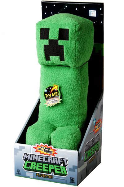 minecraft creeper plush toy  sound