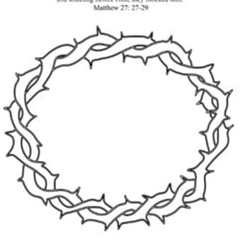 printable crown of thorns crown of thorn starfish free coloring pages