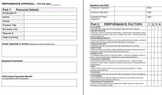 Appraisals Template by Format Of Performance Appraisal Form Fax Cover Sheet
