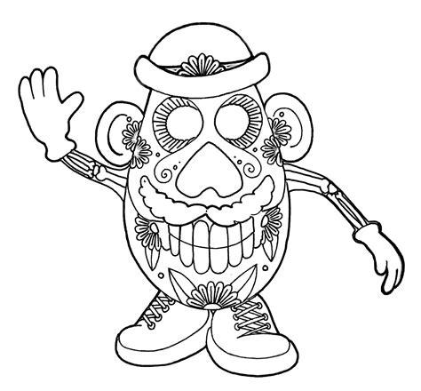 Yucca Flats N M Wenchkin S Coloring Pages Dia De Los Girly Sugar Skull Coloring Pages