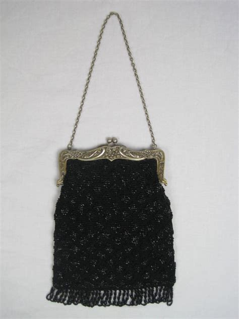 antique beaded purses antique beaded purse with nouveau frame at 1stdibs