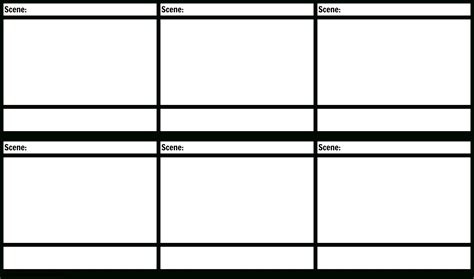 Blank Storyboard Template by Storyboard Template Pdf The Best Template Ideas