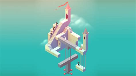video game wallpaper app monument valley by ustwo games ltd