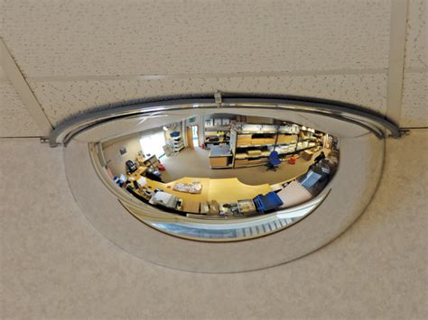wall mirrors and security convex mirrors