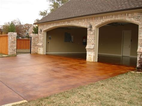 Beautiful Stained Concrete Driveway   Chez Huskey   The