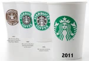 peach s graphic life starbucks logo evolution