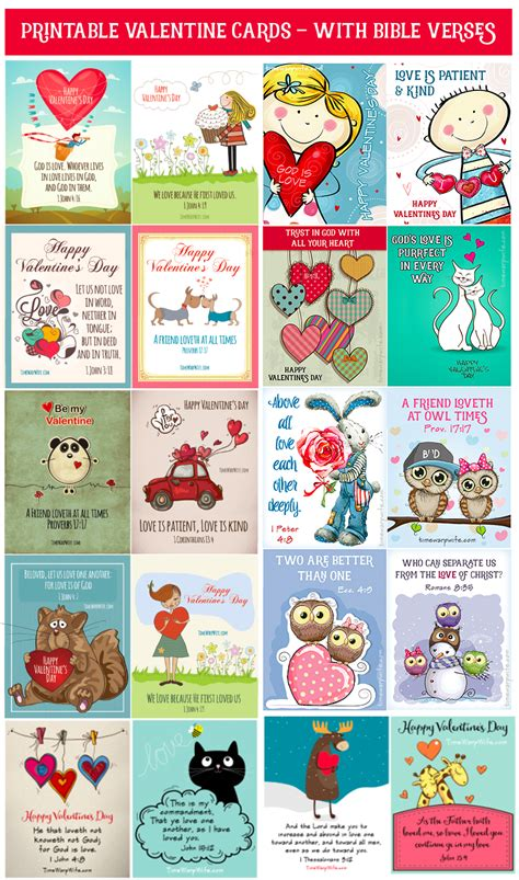 Christian Valentines Day Cards Printable
