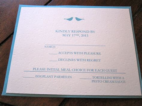 Formal Wedding Invite Response Card by Event Invitation Wedding Invitations Reply Cards Card