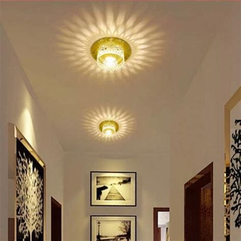 Ceiling Light Fixtures For Hallway Aliexpress Buy 3w Modern Led Ceiling Spotlights Balcony Hallway Living Room Light