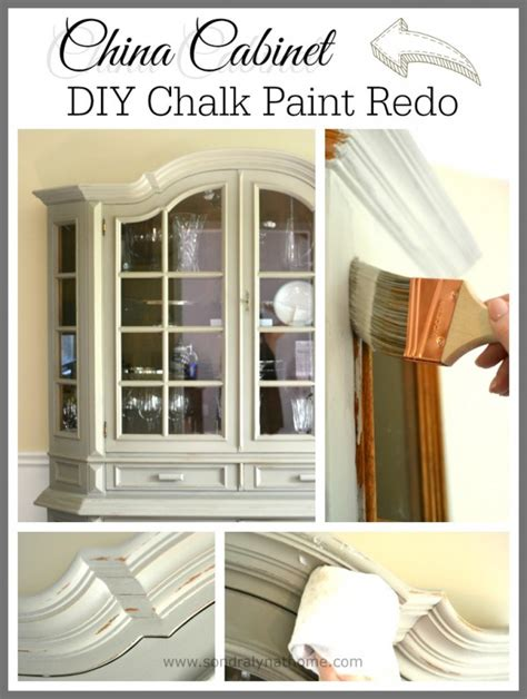 chalk painted china cabinet china cabinet chalk paint makeover sondra lyn at home