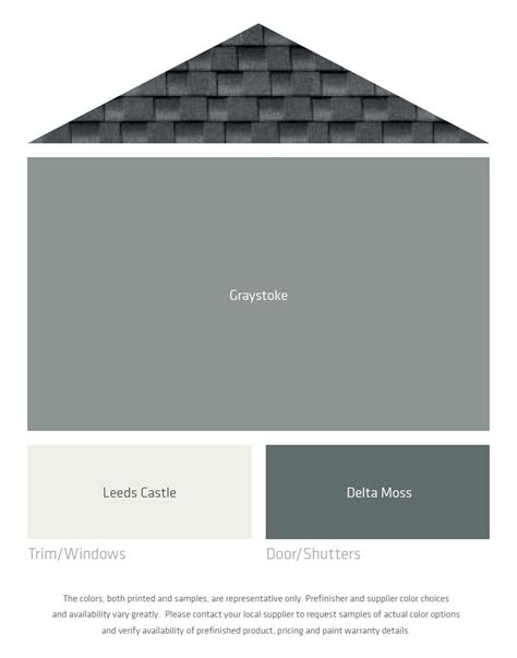 colors that go with black and white fresh color palettes for a gray or black roof