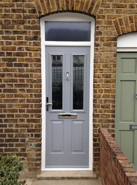 pale green composite front door composite door chartwell green edwardian terrace