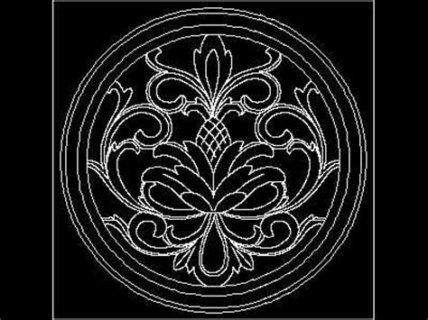 pattern dwg download classical carved stone pattern cad demo 4p free download