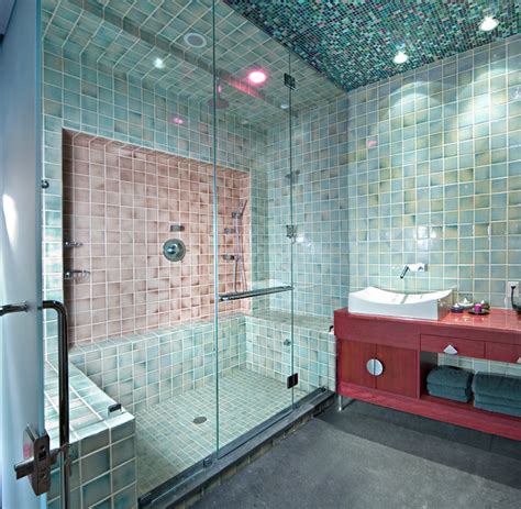 Steam Room Nyc by Inspired Bath Space By New York Shower Door Eclectic Bathroom