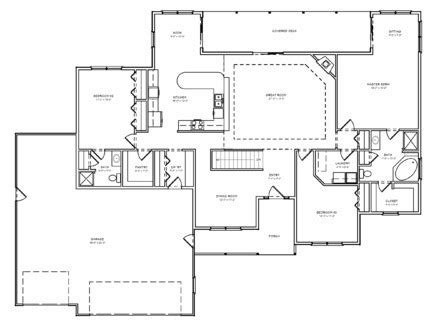 3 car garage ranch house plans house plans designs home plans with open floor plans home plans mexzhouse com