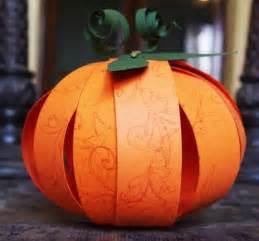 Pumpkin Papercraft - paper pumpkin crafts for find craft ideas