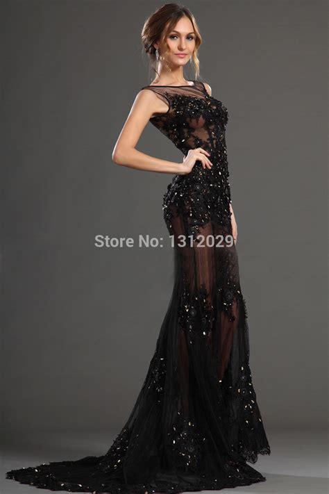 Robe De Bal Noir Longue - robes 233 tonnantes robe longue soiree paillettes