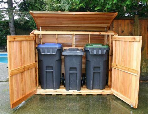 garbage  storage shed restyled junk