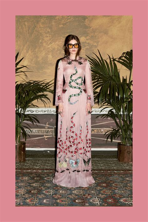 Maxi Dress Gucci maxi dress gucci prefall 2016 moda fashion mode