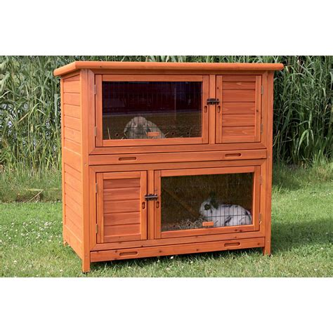 Hayneedle Rabbit Hutch trixie 2 in 1 rabbit hutch with insulation rabbit cages