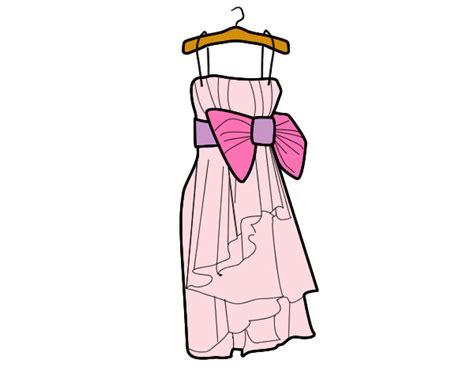 como dibujar vestidos fotos dibujo de vestido de fiesta pintado por ashley205 en
