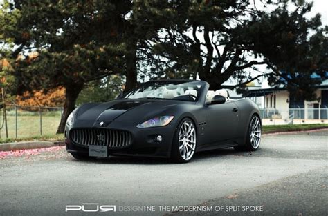 maserati drop top maserati grancabrio prowler by pur wheels