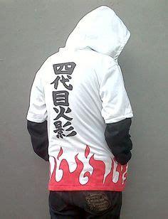 Kaos Yondaime White hoodie jacket v 234 tements
