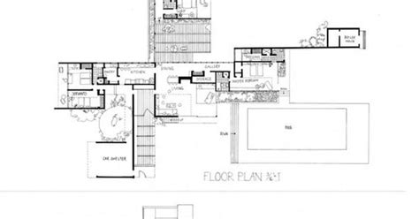 richard neutra house plans kaufmann house plan google search design pinterest