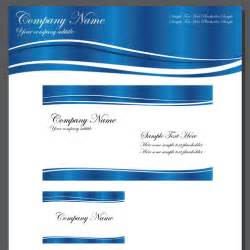 business invitations templates business template blue wave vector dragonartz designs