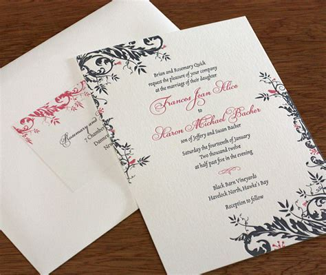 Address Labels to Match Your Wedding Invitations