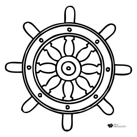 anclas de barcos para colorear dibujos de timones y anclas imagui