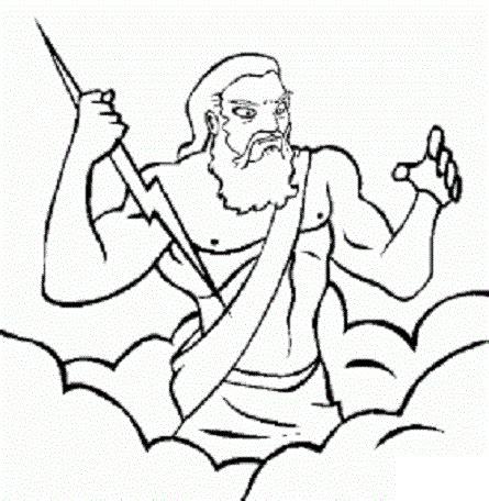 imagenes de dios zeus zeus el dios del olimpo