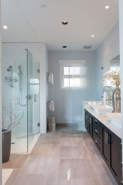 vancouver west custom home craftsman bathroom