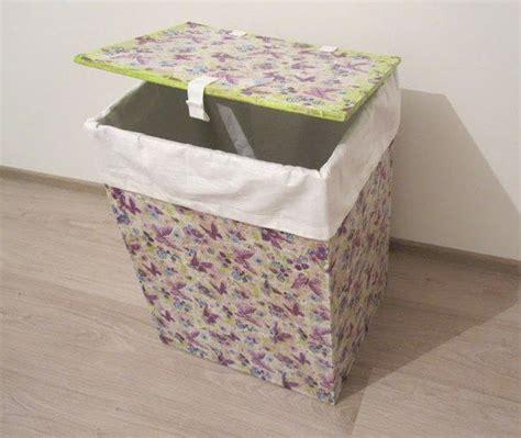 ideas para el hogar canasto reciclado para ropa sucia
