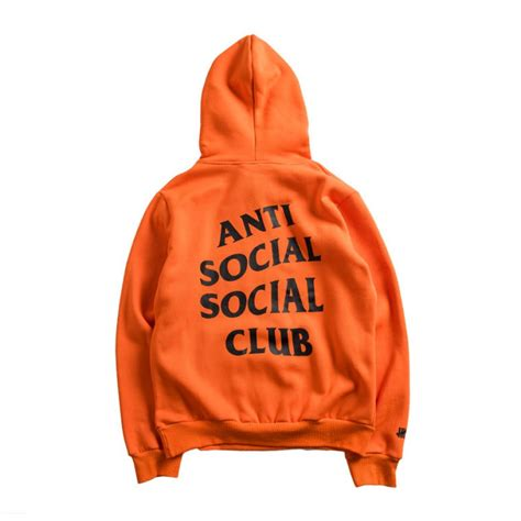 Anti Social Social Club Hoodie Jacket Assc Hoodiejacket anti social social club assc undefeated paranoid pouch