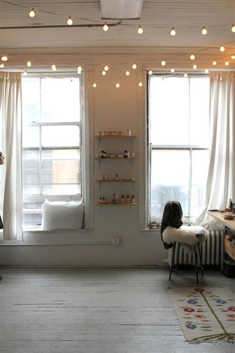20 ways to decorate your home with string lights pretty